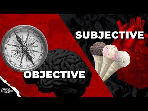 Subjective Morality vs Objective Morality