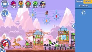 Angry Birds Friends - Santacoal e Candyclaus-Parte 3! ( Especial de natal ) Nível 6!