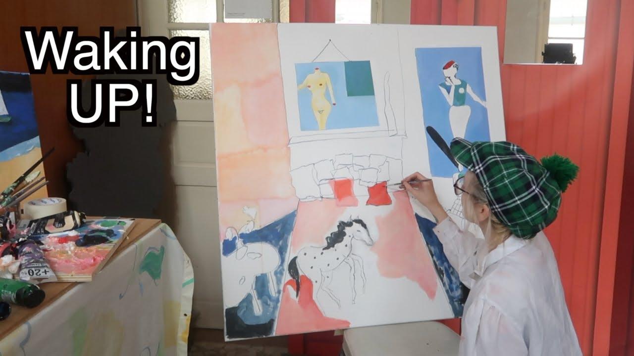 A WEEK of Painting & creative awakening 🌿