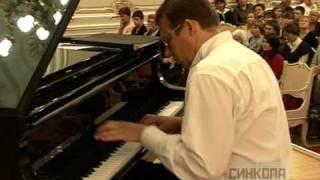 N.Paganini Caprice No.24. Excellent jazz piano intro! www.chizhik.ru