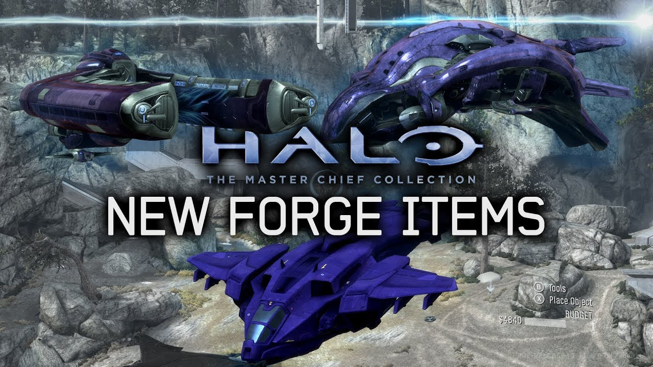 Halo Mcc Pc New Thorage Forge Items