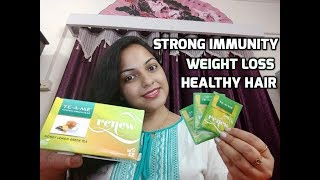 Review Of TE-A- ME HONEY LEMON GREEN TEA   Green Tea For Weight Loss,Healthy Hair and Beautiful Skin