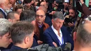 Matteo Renzi (PD) col treno Destinazione Italia fa tappa a Barletta