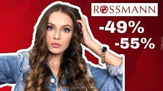 Co warto kupić na promocji -49%  w Rossmannie?