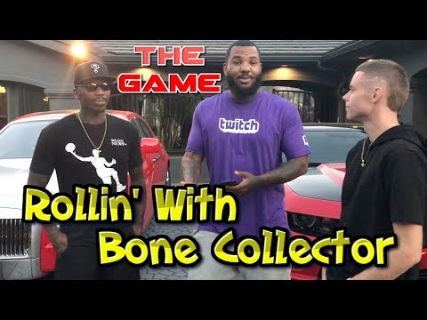 Rolling with Bone Collector all day. Played PIG with THE GAME and his kids. FUN DAY!