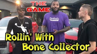 rolling with bone collector all day played pig with the game and his kids fun day