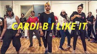 CARDI - B I LIKE IT   Junaid Sharif Choreography