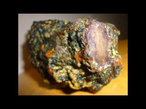 kimberlite pipe with diamond