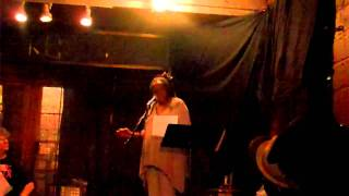 "Theresa Davis performs ""On a Bender"" Java Monkey Speaks"