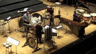 Irwin Bazelon Fourscore for percussion quartet