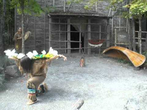 Huron-Wendat Dance at Wendake