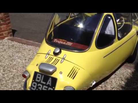 Heinkel Trojan bubble car