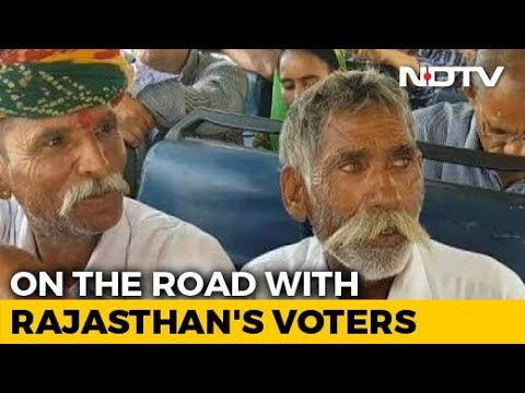 A Bus Journey With Rajasthan Voters Across 8 Lok Sabha Const