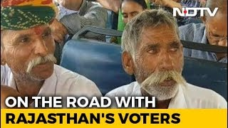 A Bus Journey With Rajasthan Voters Across 8 Lok Sabha Constituencies