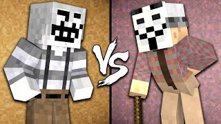 Old Hacker vs. Old Troll - Minecraft