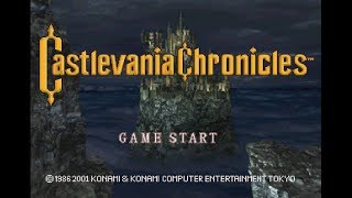 Castlevania Chronicles playthrough ~Longplay~
