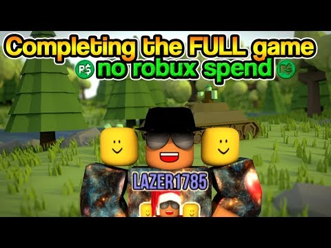 [Roblox] Infection Inc: Completing  the FULL game!!! (NO ROBUX SPEND)