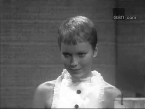 What's My Line?  Frank Sinatra, Mia Farrow; PANEL: Phyllis Newman, Mark Goodson Nov 27, 1966