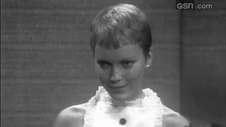 What's My Line? - Frank Sinatra, Mia Farrow; PANEL: Phyllis Newman, Mark Goodson (Nov 27, 1966)