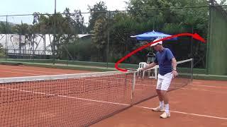Newton Tênis - Acelerar a raquete no forehand