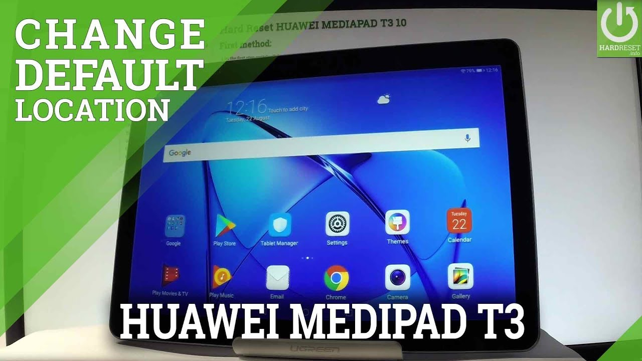 Change Default Files Location in HUAWEI MEDIAPAD T3