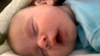 Snoring 1 month old baby