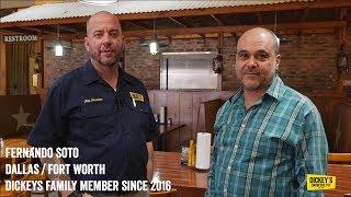 Testimonial Fernando Soto - Owner Testimonial - Dickey's Barbecue Pit