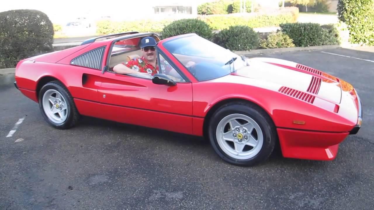 Movember Magnum Ferrari 308 GTS - YouTube