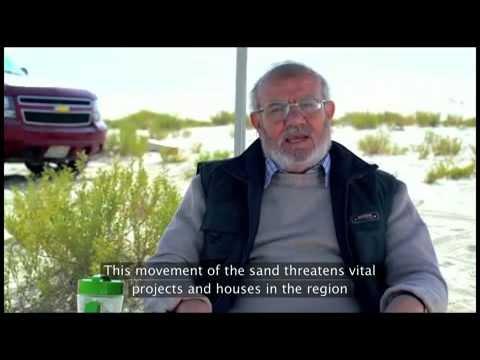 الرياضيات - حساب حجم الكثبان الرملية The Geometry Sand Dunes