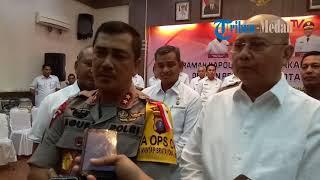 Kapolda Sumut Ingin Kota Medan Bebas Banjir, Sampah, Reklame Liar Dan Menjaga Ca