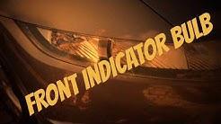 Uk Honda Civic 8th Gen Front Indicator bulb lamp change