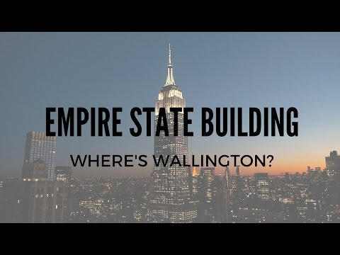 VISITING THE EMPIRE STATE BUILDING!