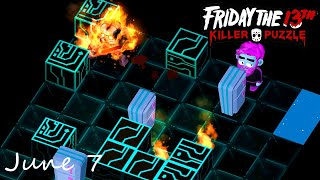 Friday the 13th Killer Puzzle Daily Death June 7 2020 Walkthrough