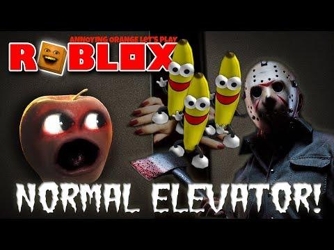 Roblox: NORMAL ELEVATOR! 🍎 😱 💩 [Midget Apple Plays]