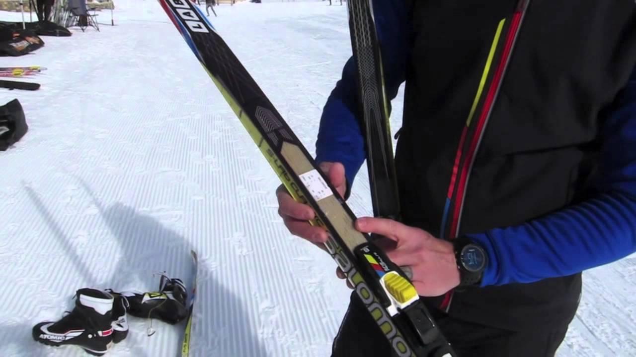 söpö todella halpaa Uudet tuotteet Salomon S-Lab Classic Ski 2013/ 2014.mov