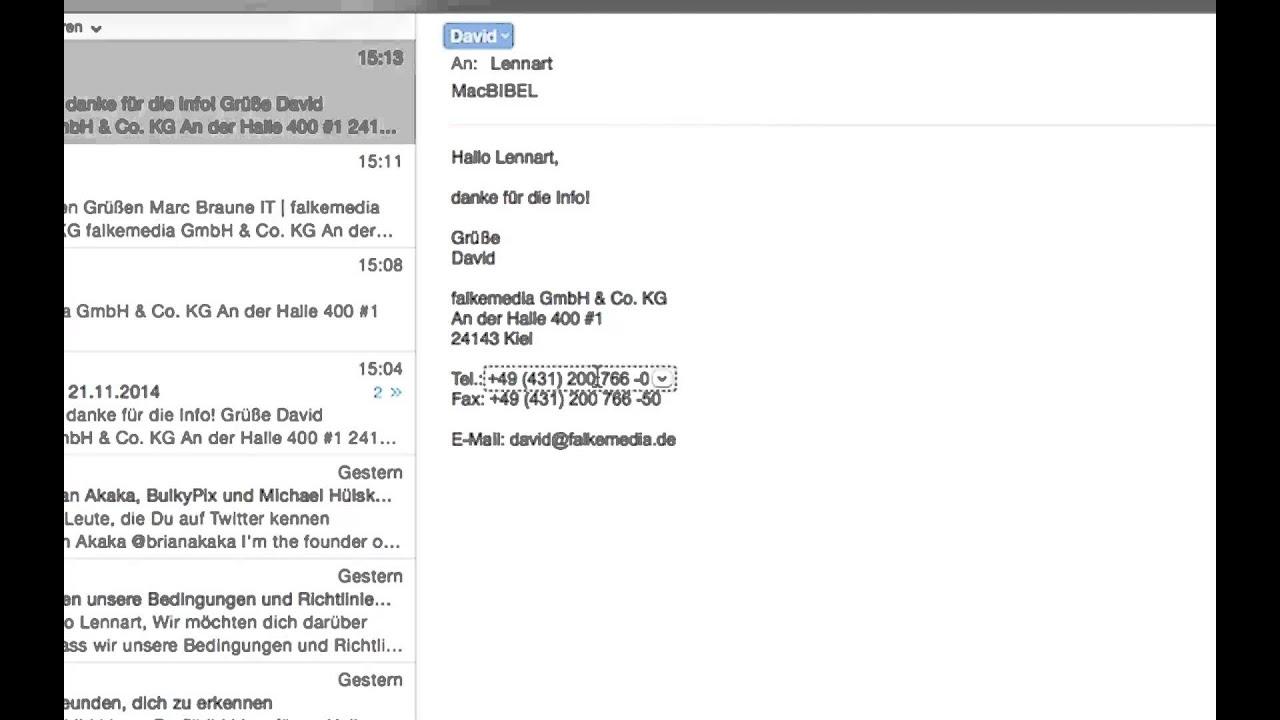 Ausgezeichnet Coole E Mail Signaturvorlagen Fotos - Beispiel ...