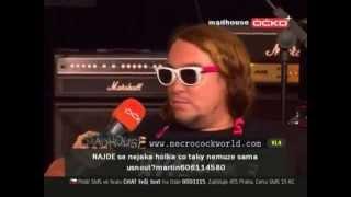 Necrocock (Kaviar Kavalier) hostem v pořadu Madhouse (27. 10. 2009)