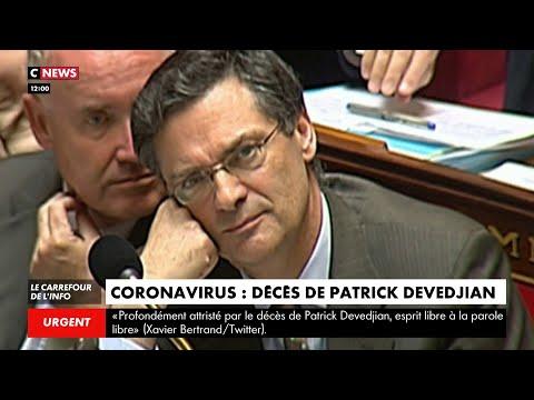 Coronavirus: l'ancien ministre Patrick Devedjian est décédé des suites du Covid-19