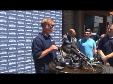 Seahawks' Brian Schneider on new kick returner Tyler Lockett