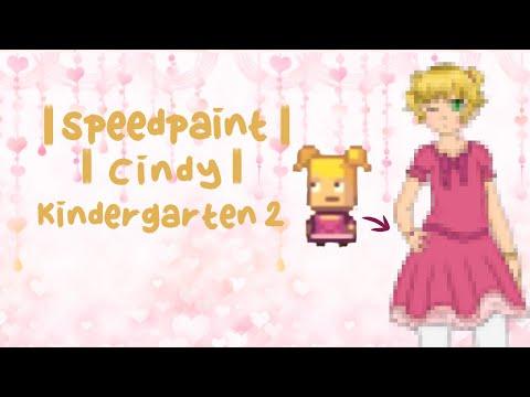 Speedpaint | Cindy | Kindergarten 2