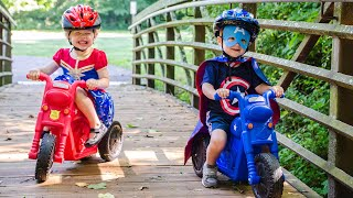 The Perfect Ride-On For Superhero Toddlers!