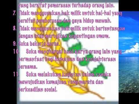 Panca Sila 5 Keadilan Sosial Bagi Seluruh Rakyat Indonesia Youtube