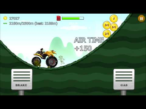 Up Hill Racing: Hill Climb Android Gameplay