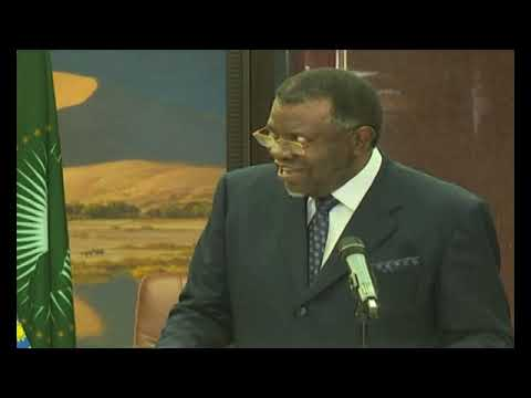 President Geingob wants proposed Namibia-Botswana desalination plant as soon as possible - NBC