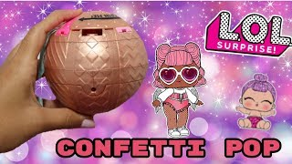 UNBOXING CONFETTI POP WAVE 1 & 2!!  GOLD BALL!