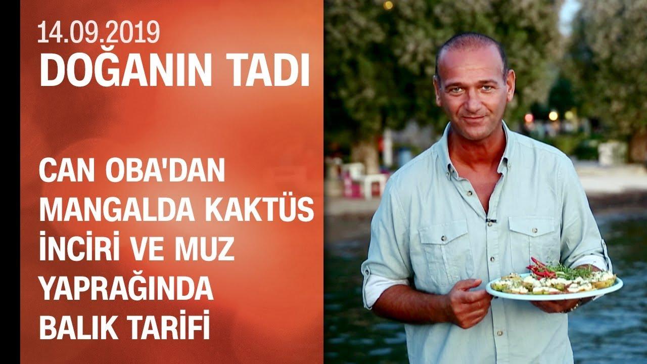 Can Oba'dan mangalda kaktüs inciri ve muz yaprağında balık tarifi - Doğanın Tadı 14.09.2019
