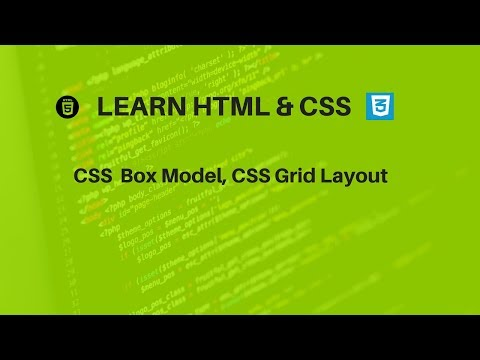 Online Web Development Course, Codecademy, Box Model,  CSS Grid Layout (pt 2)