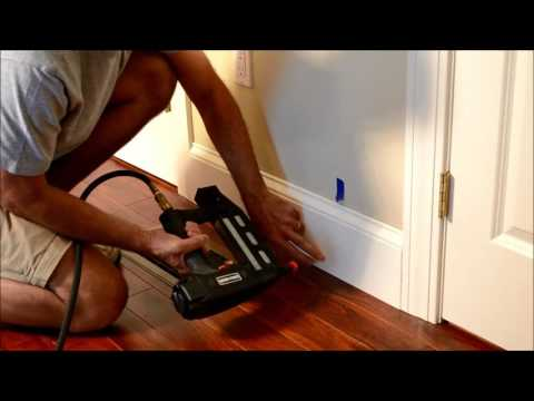 how-to-reinstall-old-baseboard-trim-after-wood-floor-installed-video