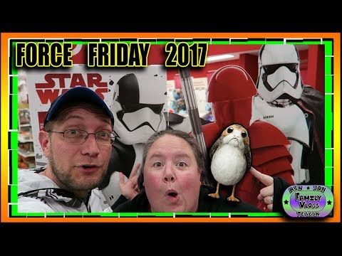 Force Friday II 2017 Midnight Store Openings & Toy Haul! MAY THE PORG BE WITH YOU!