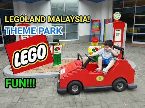 Legoland Malaysia Theme Park Visit (+ Halloween), Hotel Stay & Egg Surprise! | OhCarol KidsTV|